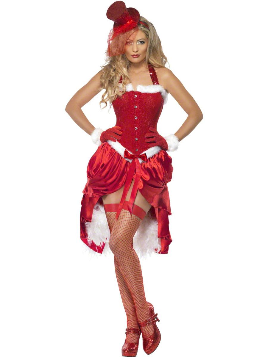 Costume Noel Costume Burlesque Santa Baby