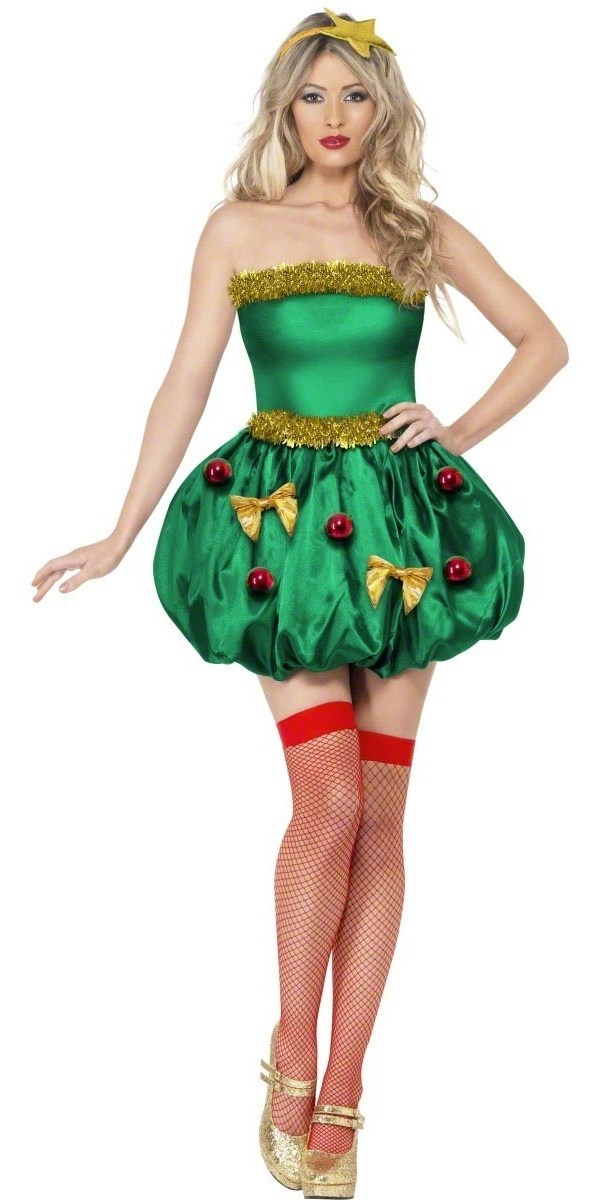 Costume Mère Noël Fièvre Tree Festival Costume