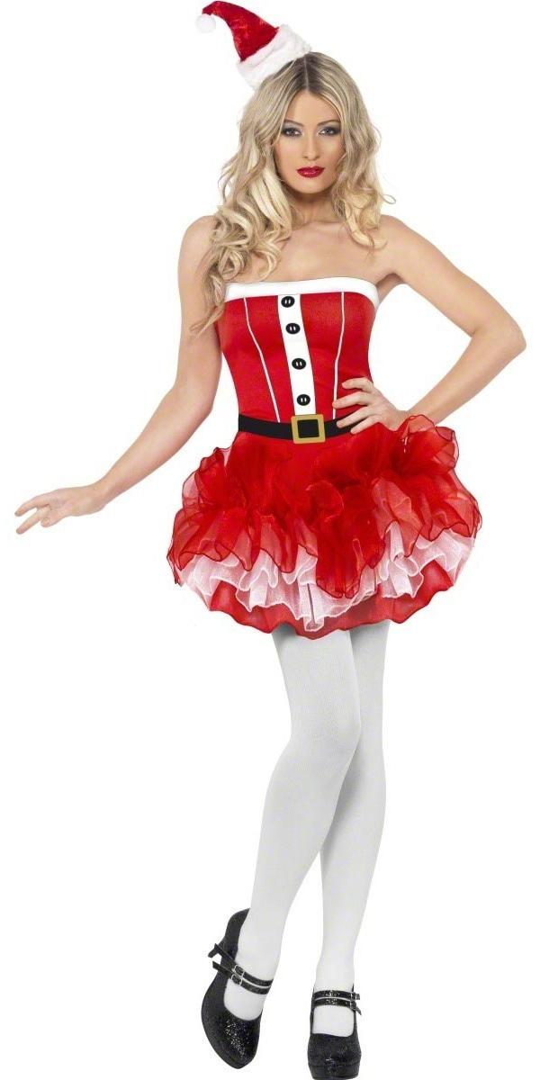 Costume Mère Noël Costume de TuTu de Santa de fièvre