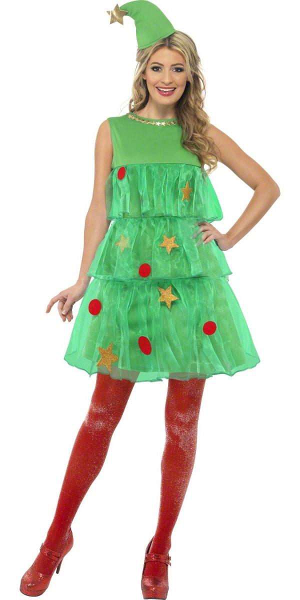 Costume Mère Noël Arbre de Noël Tutu Costume