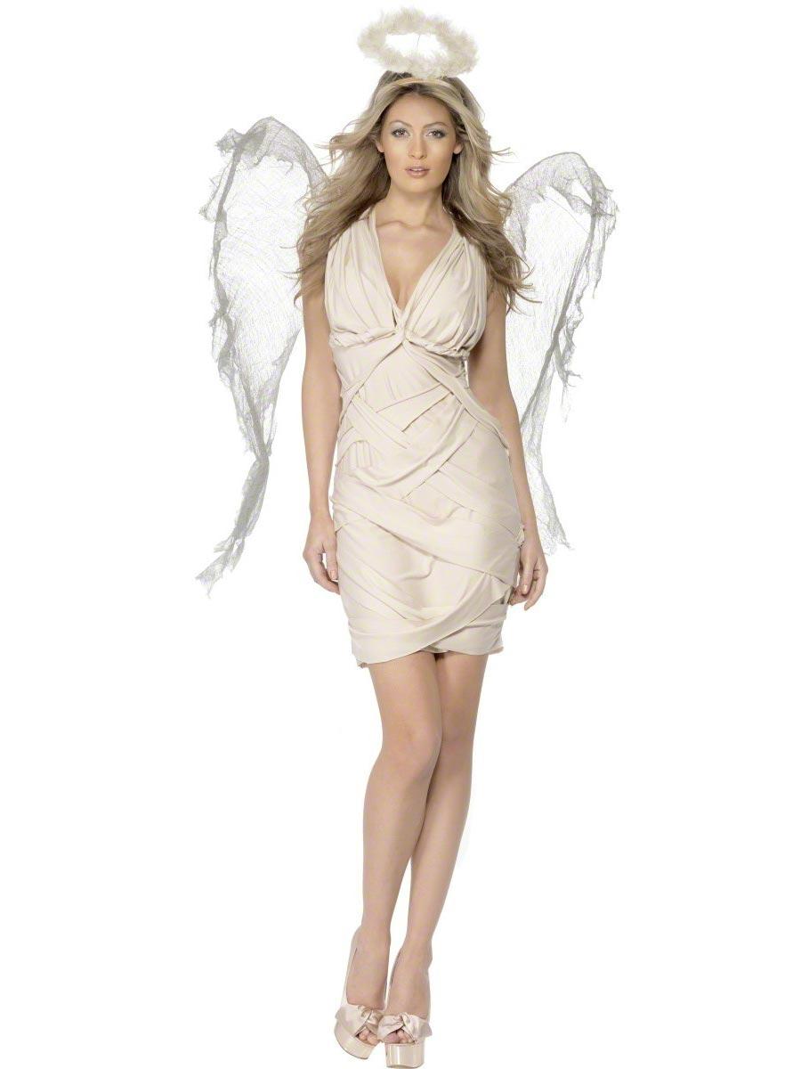 Costume Mère Noël Costume d'ange déchu