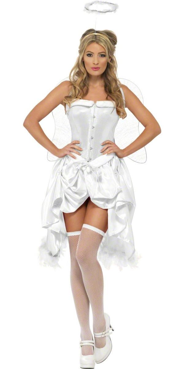Costume Mère Noël Fièvre bébé Angel Costume Burlesque