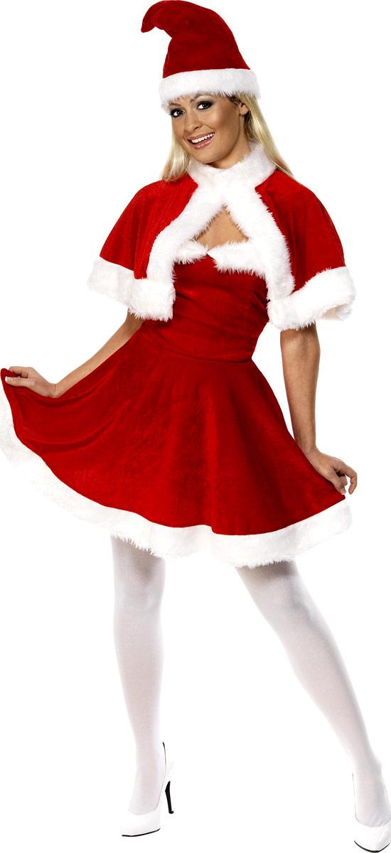 Costume Mère Noël Costume de Miss Santa