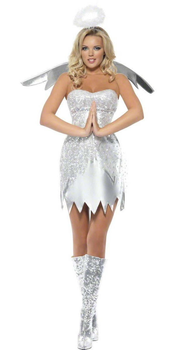 Costume Mère Noël Costume ange Shimmer fièvre