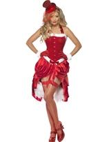 Costume Burlesque Santa Baby Costume Mère Noël