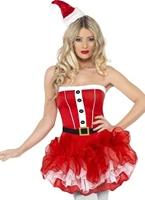 Costume de TuTu de Santa de fièvre Costume Mère Noël