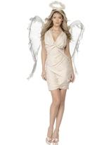 Costume d'ange déchu Costume Mère Noël