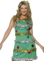 Arbre de Noël Costume Costume Mère Noël