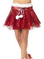 Santa Sequin Tutu Costume Mère Noël