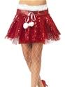 Costume Mère Noël Santa Sequin Tutu