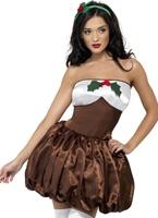 Costume coquine Pud Costume Mère Noël