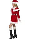 Costume Mère Noël Costume de Miss Santa Red Fleece
