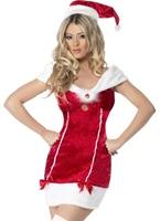 Fièvre Jersey Costume de remplissage Costume Mère Noël