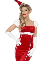 Miss Santa robe Pin Up Costume Mère Noël