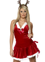 Costume maîtresse licou Santas Costume Mère Noël