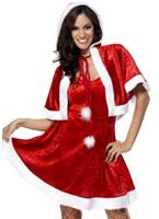 Secret Santa Costume Costume Mère Noël