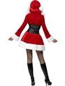 Costume Mère Noël Hooded Costume de Santa de fièvre