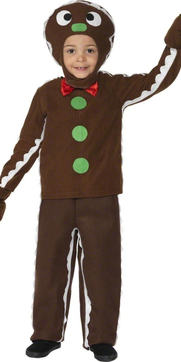 petit costume de l 39 homme de gingembre costume no l pour enfant costume noel 31 10 2018. Black Bedroom Furniture Sets. Home Design Ideas