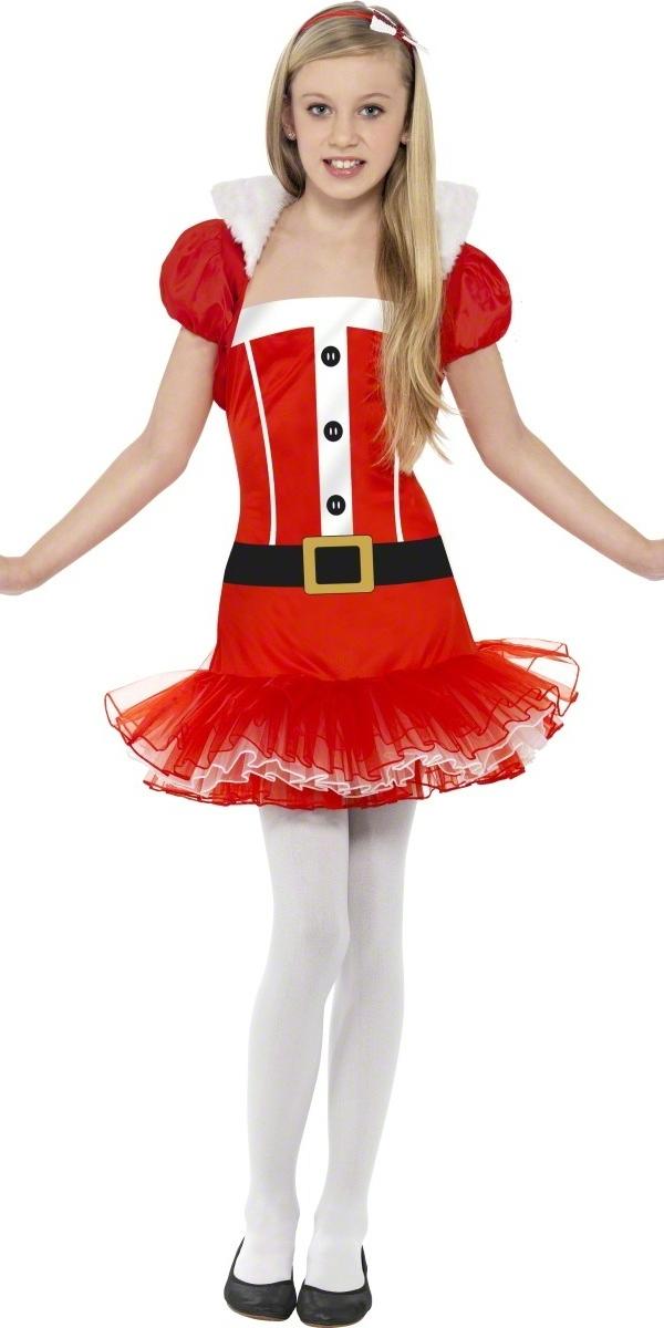deguisement noel enfant Costume Miss Santa Tutu Little Costume Noël pour enfant Costume  deguisement noel enfant