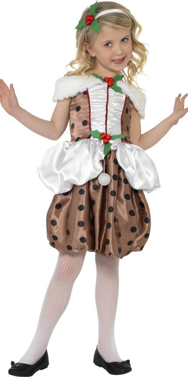 Costume Noël pour enfant Pudding de Noël Costume