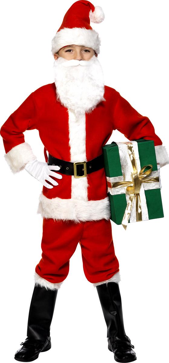 Costume Noël pour enfant Pour enfants de luxe Santa Costume