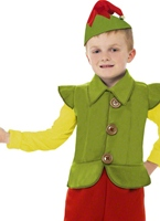 Costume garçon Elf Costume Noël pour enfant