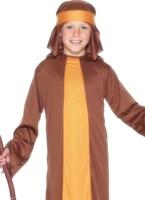 Berger Costume brun jaune Costume Noël pour enfant