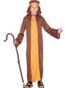 Costume Noël pour enfant Berger Costume brun jaune