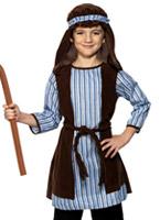 Costume Robe de berger Costume Noël pour enfant