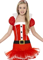 Costume Miss Santa Tutu Little Costume Noël pour enfant