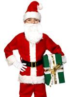 Pour enfants de luxe Santa Costume Costume Noël pour enfant