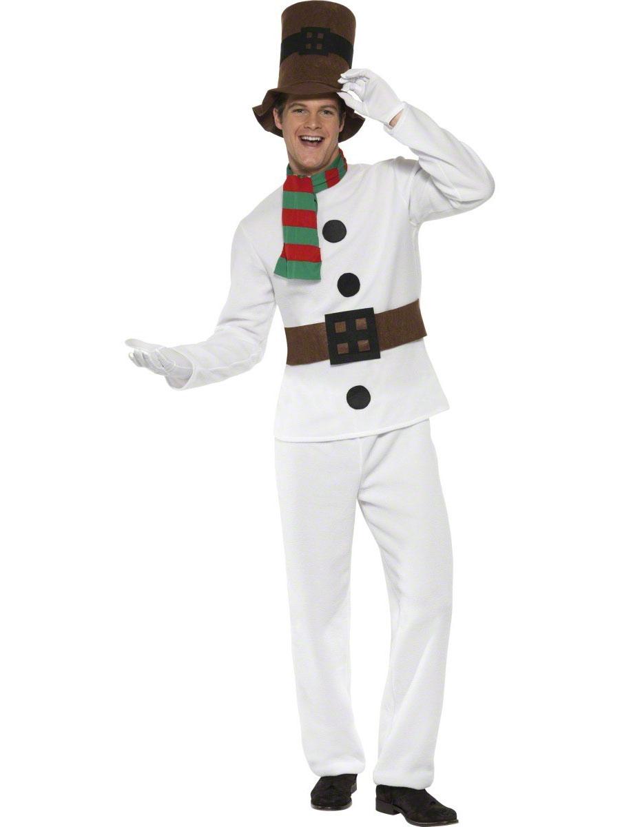Costume du Père Noël Monsieur Costume de bonhomme de neige