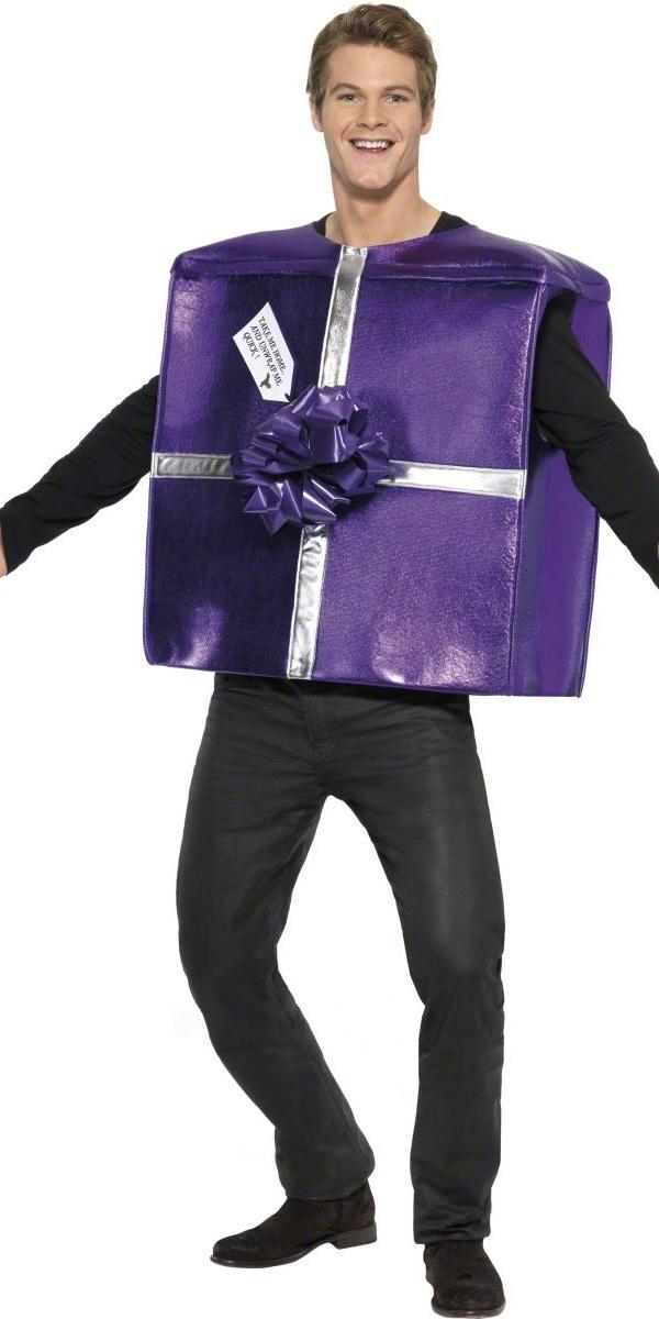 Costume du Père Noël Take Me Home et Unwrap Costume