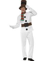 Monsieur Costume de bonhomme de neige Costume du Père Noël