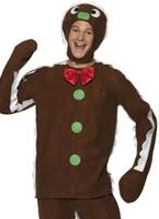 Costume homme de pain d'épice Costume du Père Noël