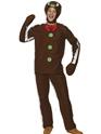 Costume du Père Noël Costume homme de pain d'épice