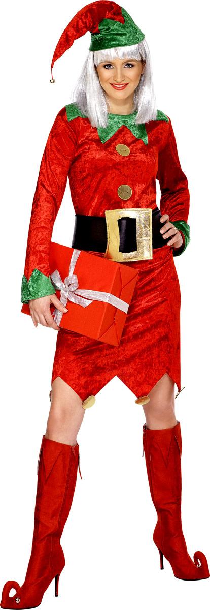 Nouveaux Costume de Noël Costume d'elfe