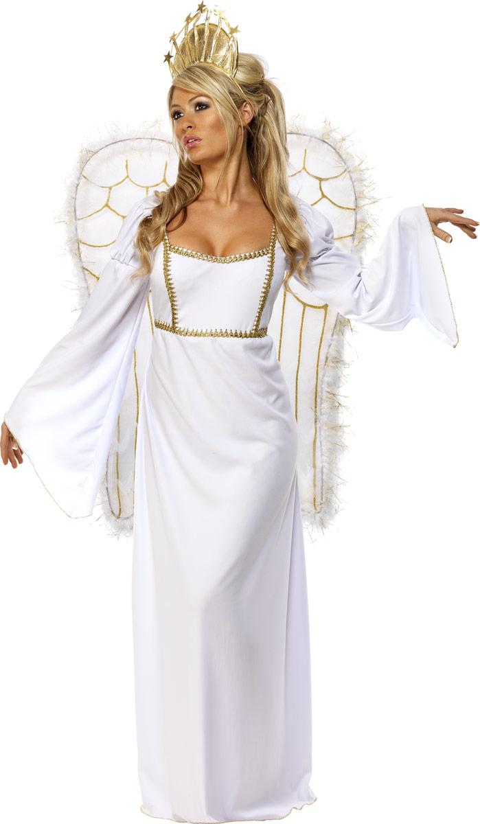 Nouveaux Costume de Noël Costume d'ange avec Couronne