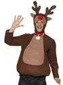 Nouveaux Costume de Noël Capuche et haut de Rennes