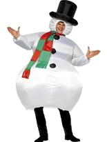 Costume bonhomme de neige gonflable Nouveaux Costume de Noël