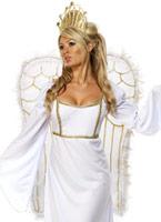 Costume d'ange avec Couronne Nouveaux Costume de Noël