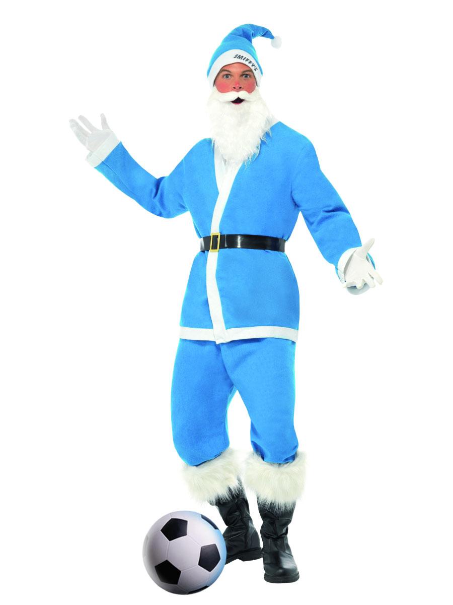 Père Noel Sportif Blue Sky Sport Santa Costume