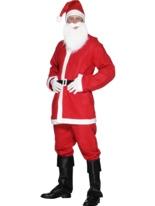 Aubaine Santa Costume Père Noel Sportif