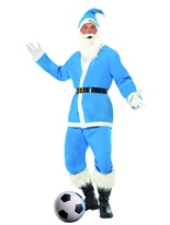Blue Sky Sport Santa Costume Père Noel Sportif