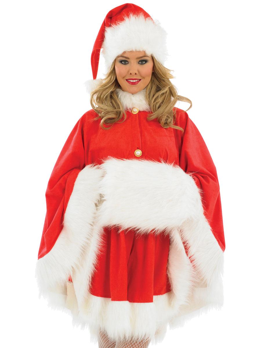 94e4d95be3d Costume de Cap Santa Mesdames Santa Claus Costumes Costume Noel - 10 ...