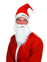 Red Hat & Set barbe Santa Claus Costumes