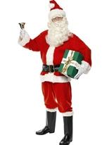 Costume de luxe Santa Santa Claus Costumes