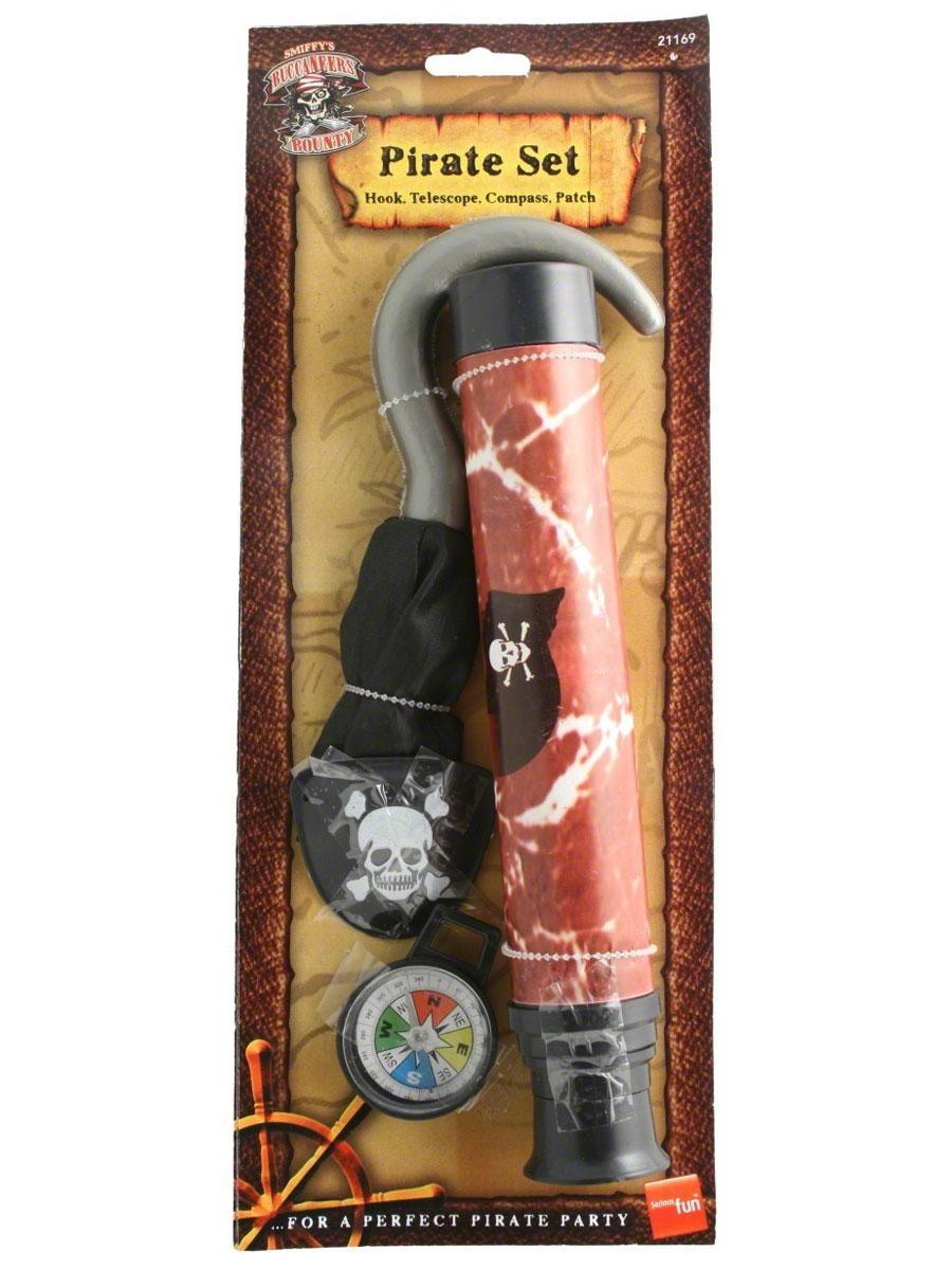 Accessoire de Pirate Kit aventure de pirates