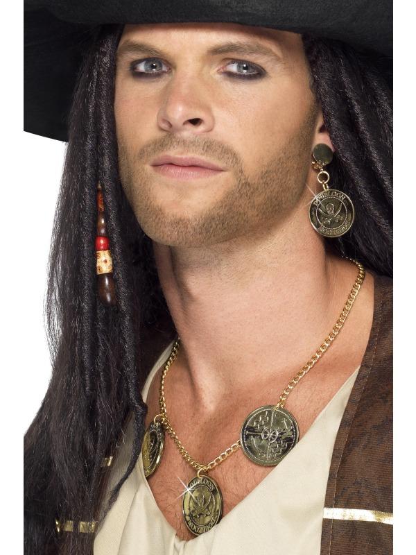 Accessoire de Pirate Ensemble de bijoux de pirate