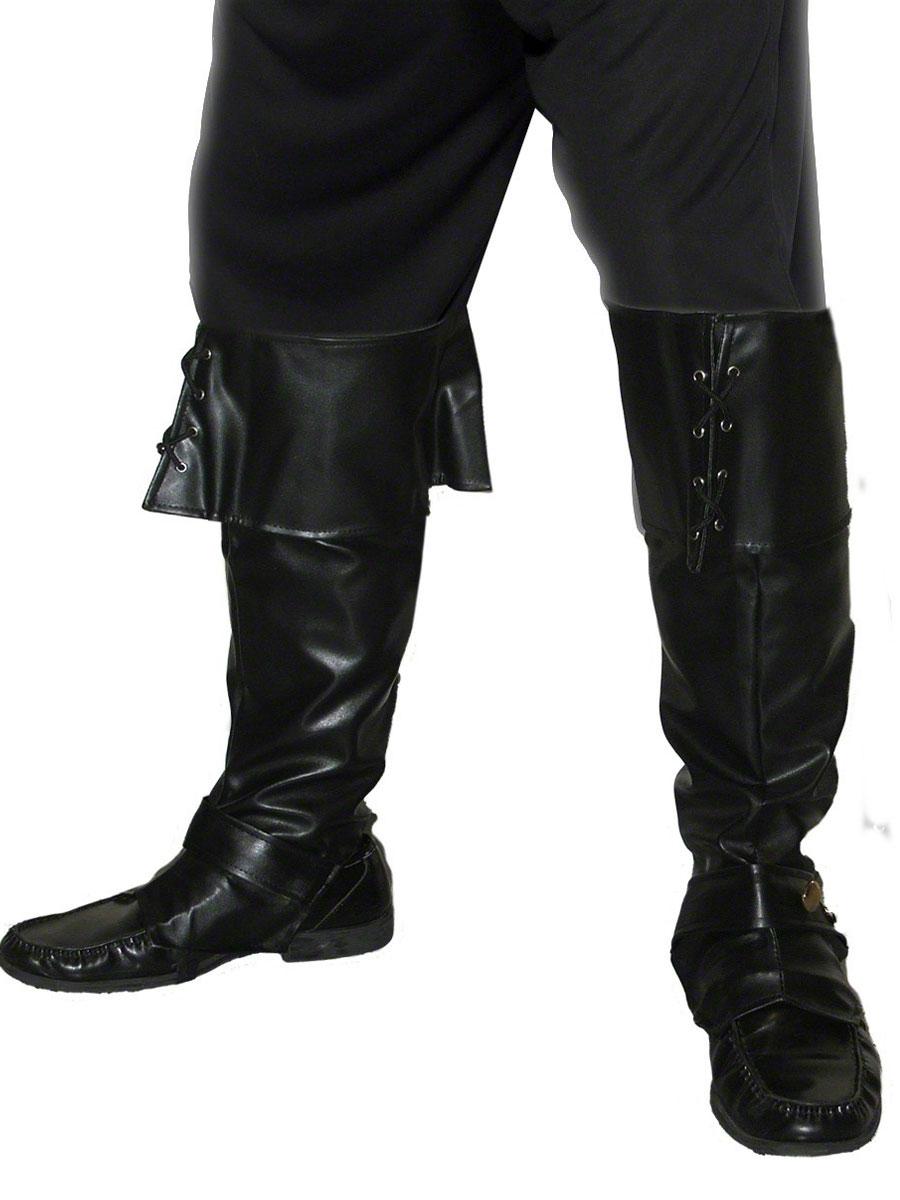 Accessoire de Pirate Couvre-bottes Pirate luxe